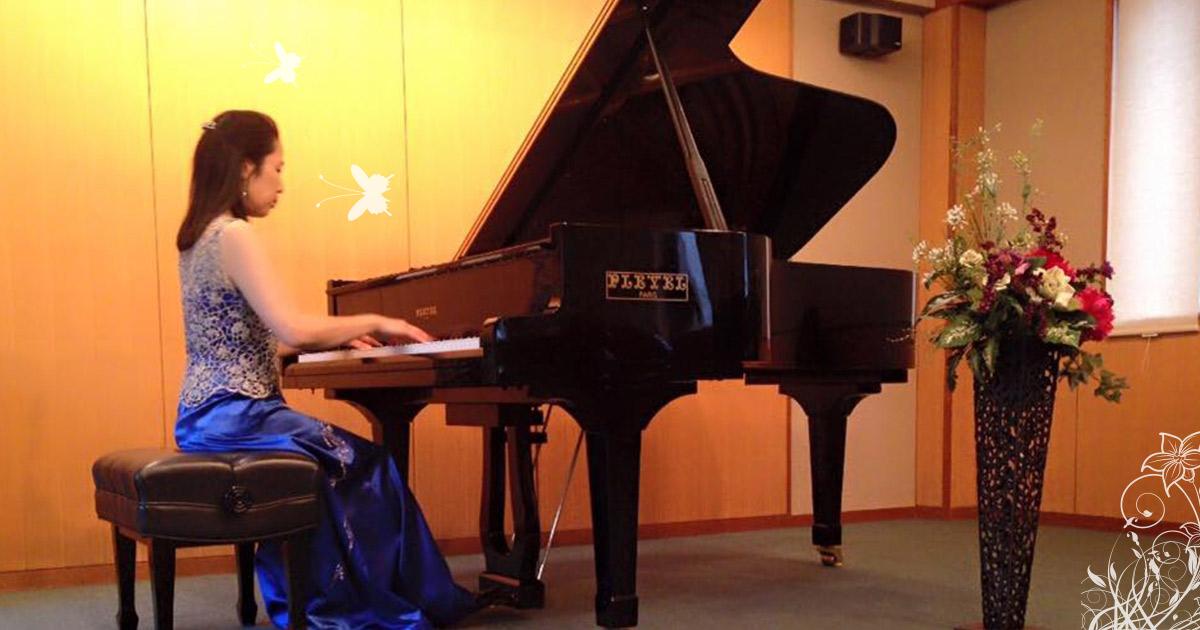 ピアニスト西津啓子/大人の女性のためのピアノ教室;Pianist Keiko Nishizu